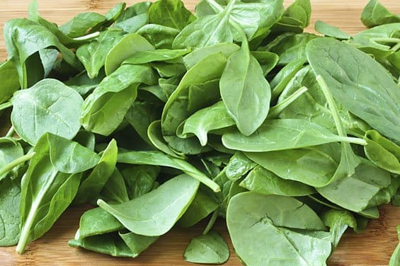 features vs benefits spinach
