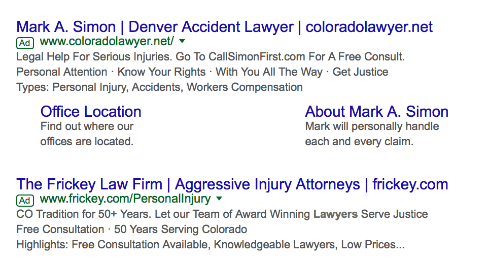 AdWords strategies for lawyers