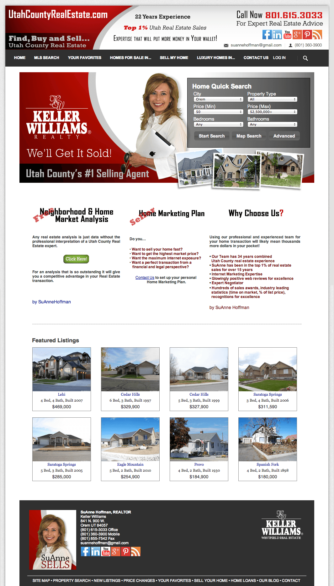 What Does a Great Real Estate Landing Page Look Like? (with Examples)