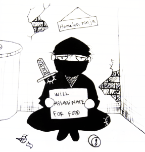 Homeless Ninja