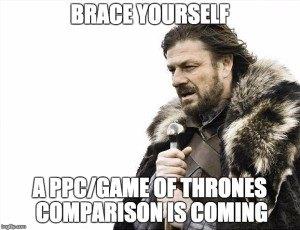 Game of Thrones Google AdWords
