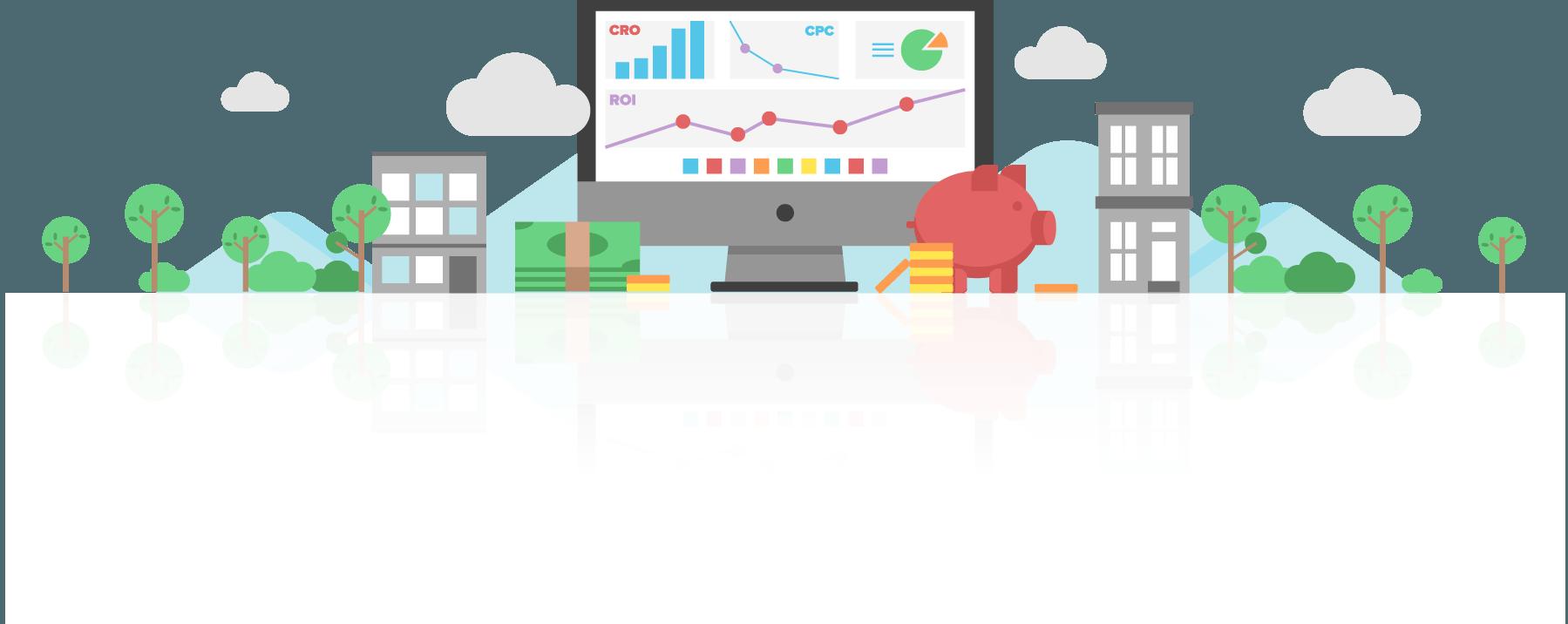 CRO ROI CPC Analytics Graphic - Disruptive Advertising