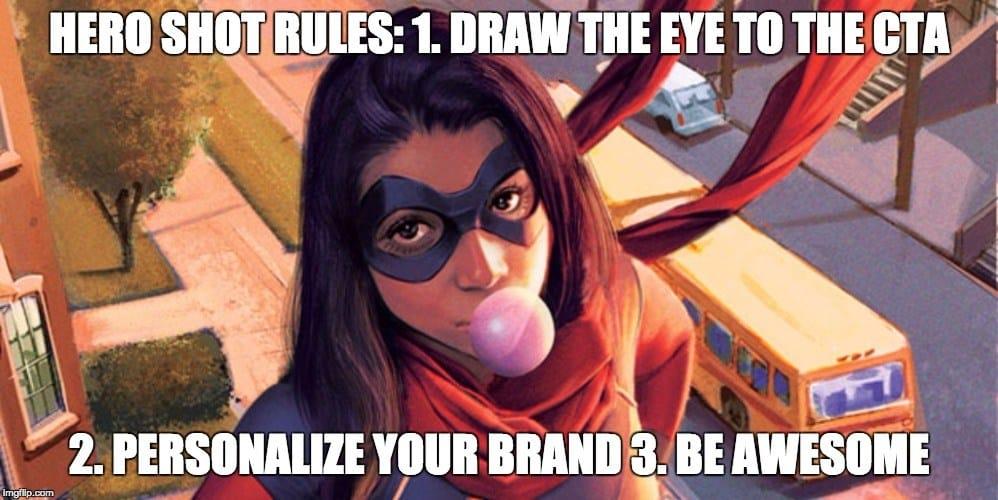 hero shot rules