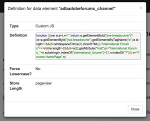dtm-debugger-data-element-definition-custom-js