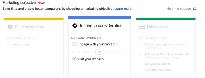 Choosing a Marketing Objective   Disruptive Advertising