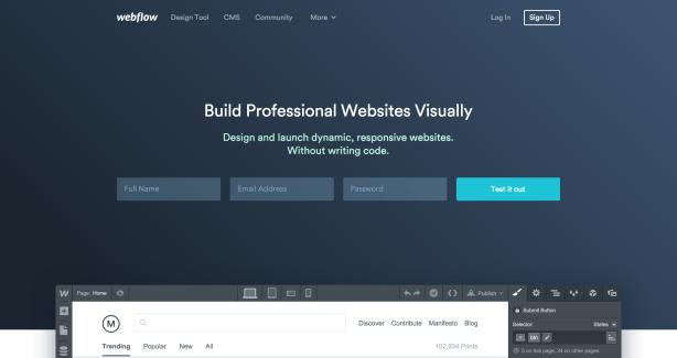 Webflow   Disruptive Advertising