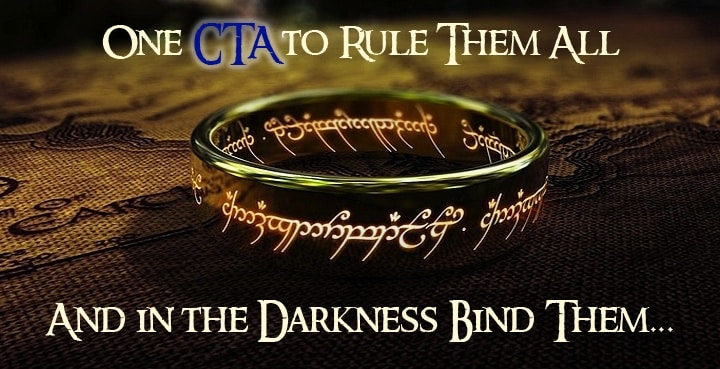 One CTA to Rule Them All   Disruptive Advertising