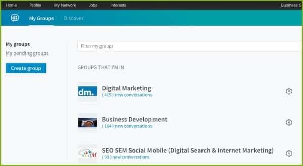 Create Group On LinkedIn   Disruptive Advertising