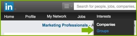 LinkedIn Groups Tab   Disruptive Advertising