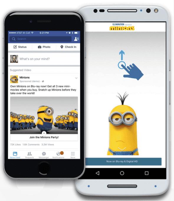 Facebook Canvas   Disruptive Advertising