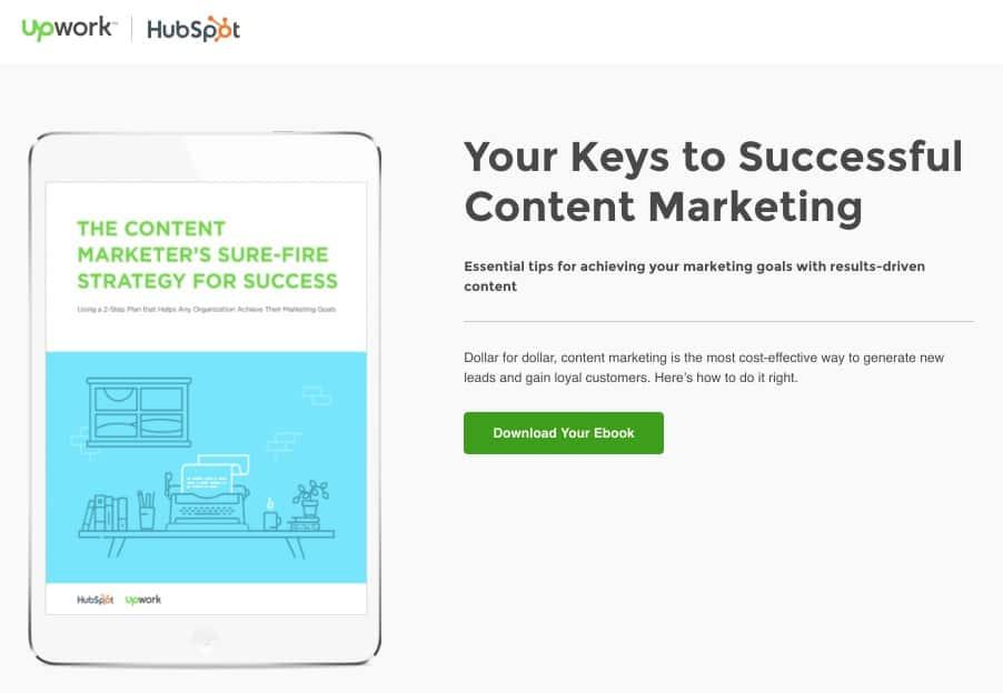 UpWork Landing Page   Disruptive Advertising