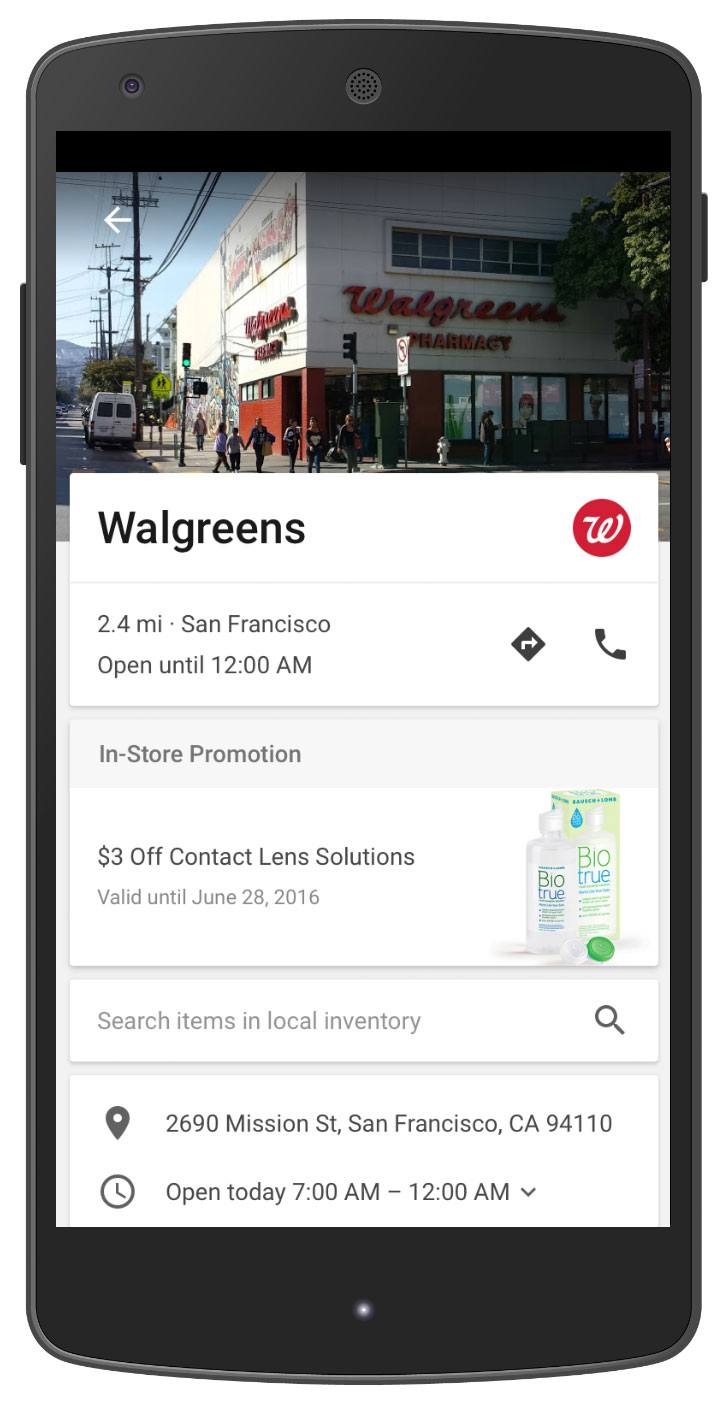 Customizable Pages and In-Store Promotions on Google Maps   Disruptive Advertising