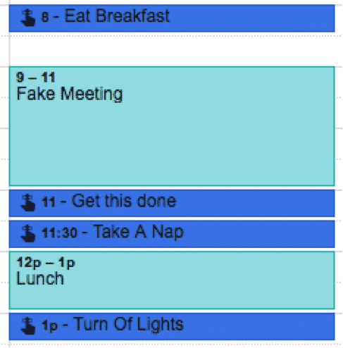 Scheduling Tasks into Your Calendar   Disruptive Advertising