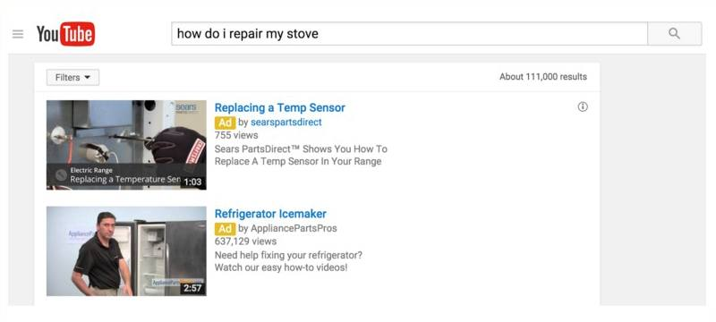 Stove Repair Search Ads   Disruptive Advertising