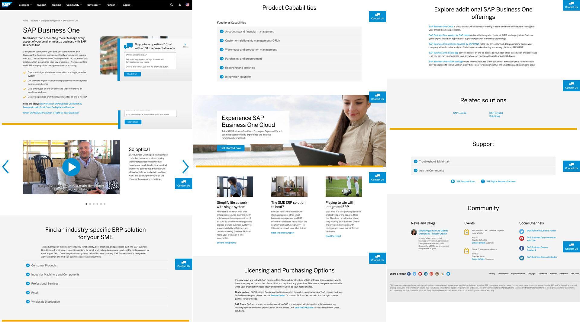 Accounting Software Uses a Long Landing Page | Disruptive Advertising