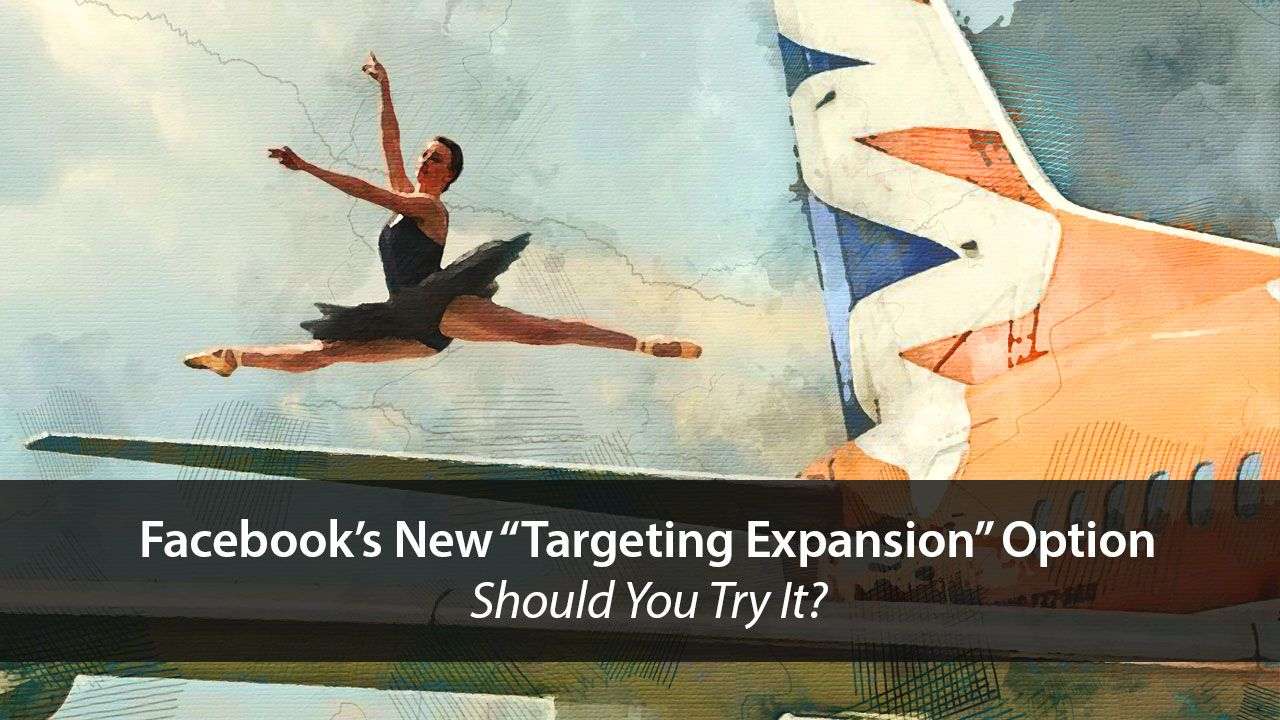 Facebook's New Targeting Expansion Option – Should You Try It?   Disruptive Advertising