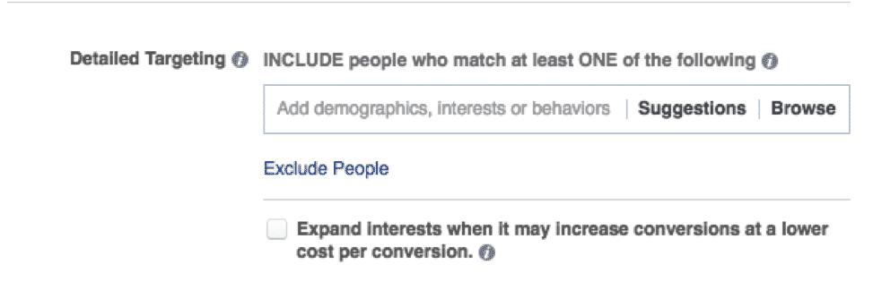 New Facebook Targeting | Disruptive Advertising