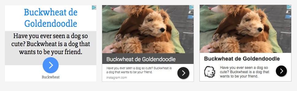 Buckwheat on GDN Responsive Ads   Disruptive Advertising