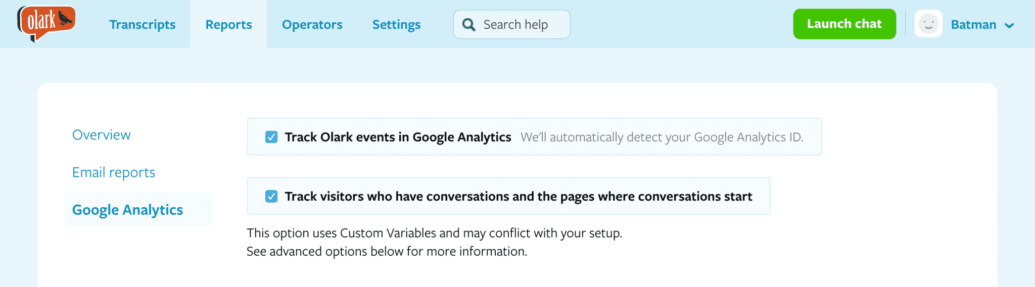 olark-google-analytics