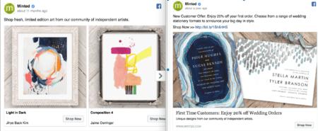 Facebook ad audience segmentation.