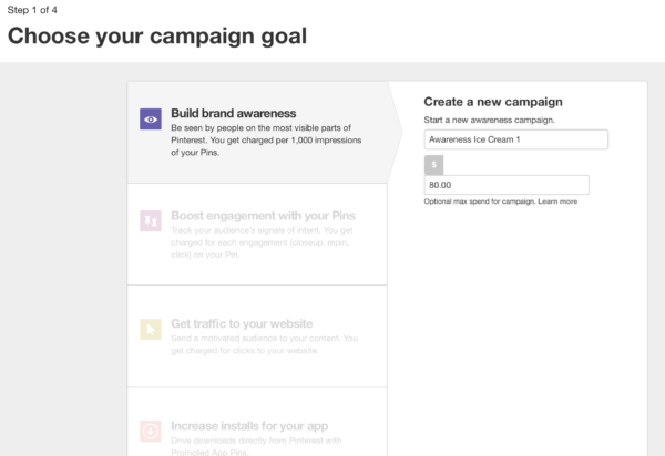 how to create Pinterest's promoted pins