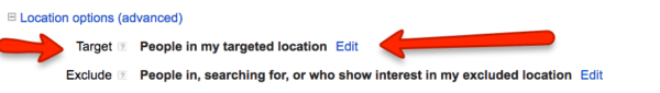 Location Settings for a Franchise Campaign in AdWords | Disruptive Advertising