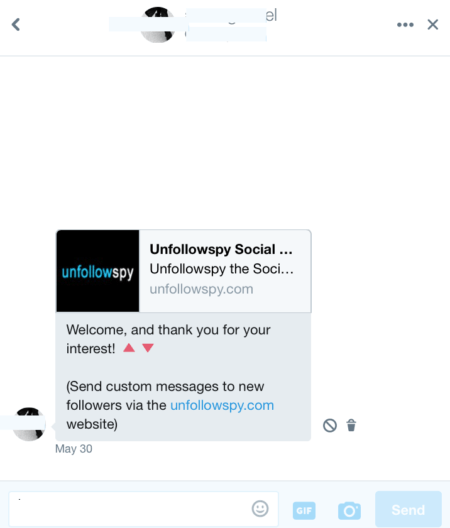 should I use automated Twitter messages?