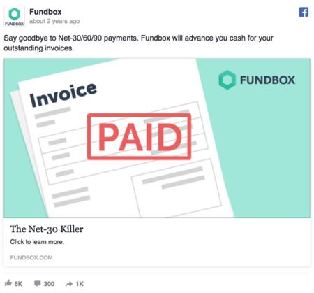 Facebook Ads copy