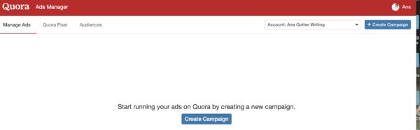 how to run Quora Ads
