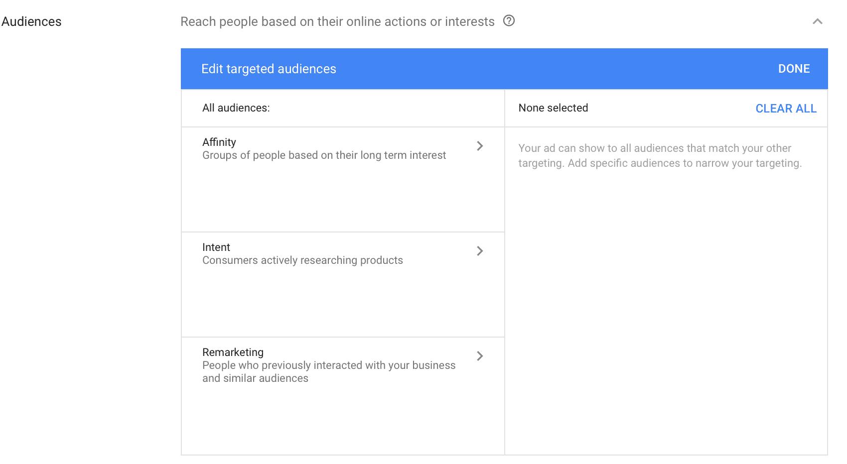 Google Adsense contextual advertising