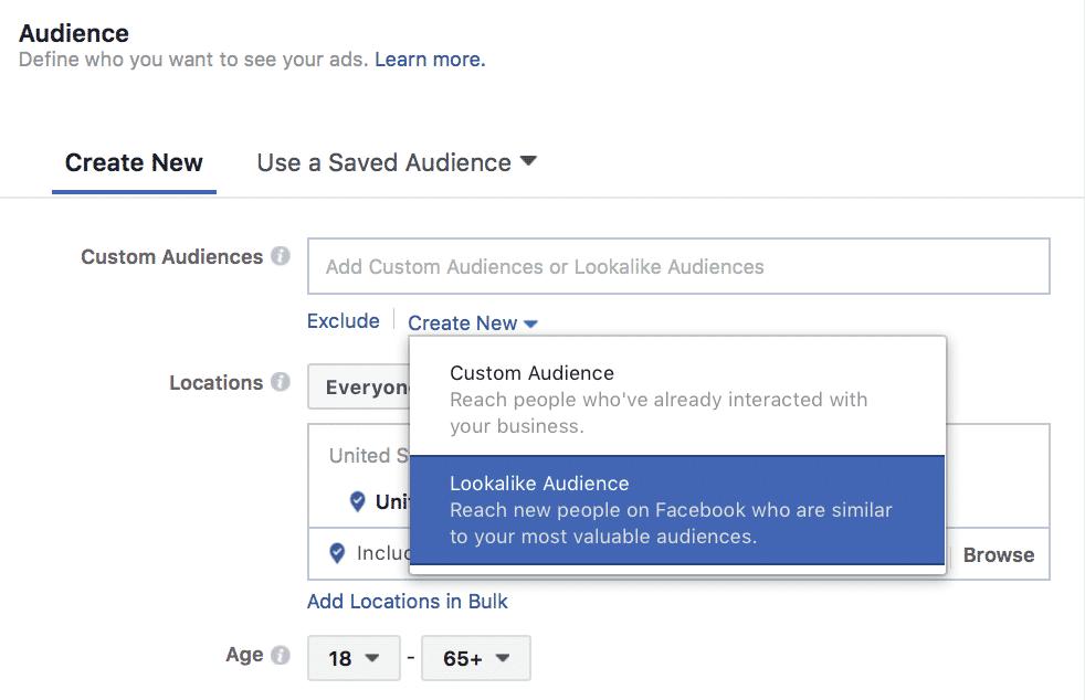 Facebook's lookalike audiences