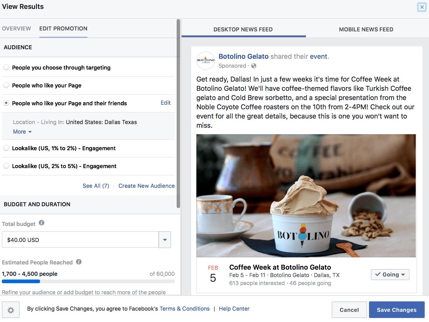 Facebook Ad event strategies