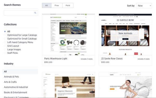 Ecommerce Platform Themes: Bigcommerce   Disruptive Advertising