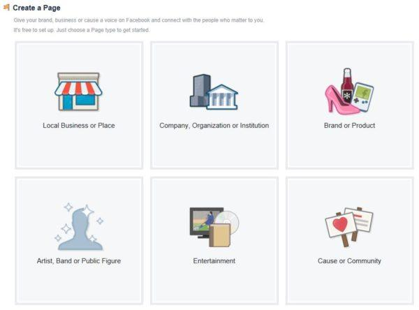Create a Facebook Page   Disruptive Advertising
