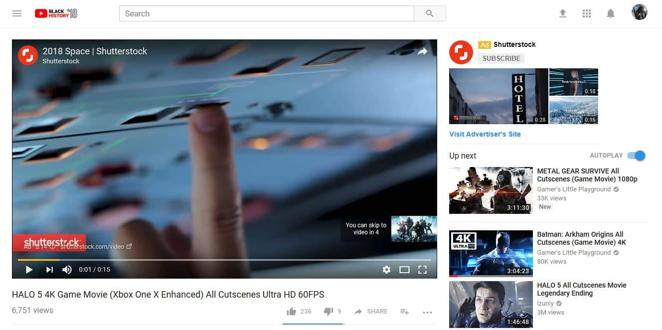 YouTube Advertising: In-Stream Ads   Disruptive Advertising