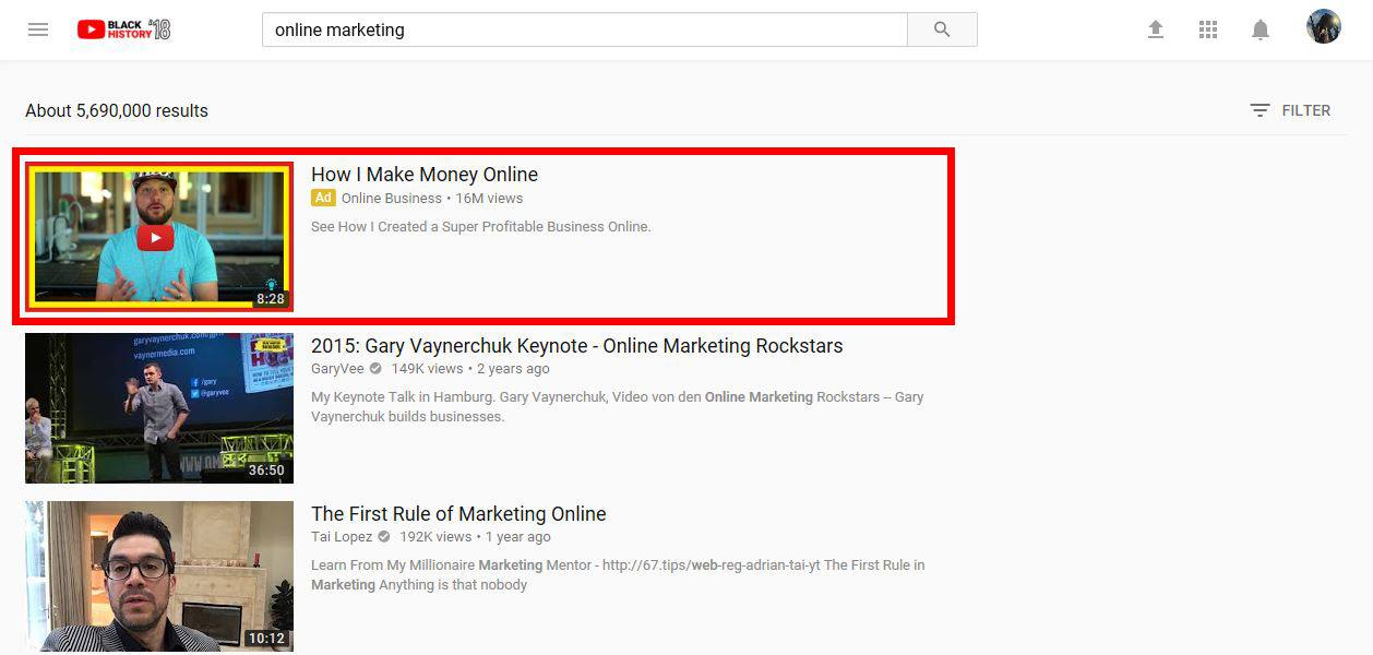 YouTube Advertising: Video Discovery Ads | Disruptive Advertising