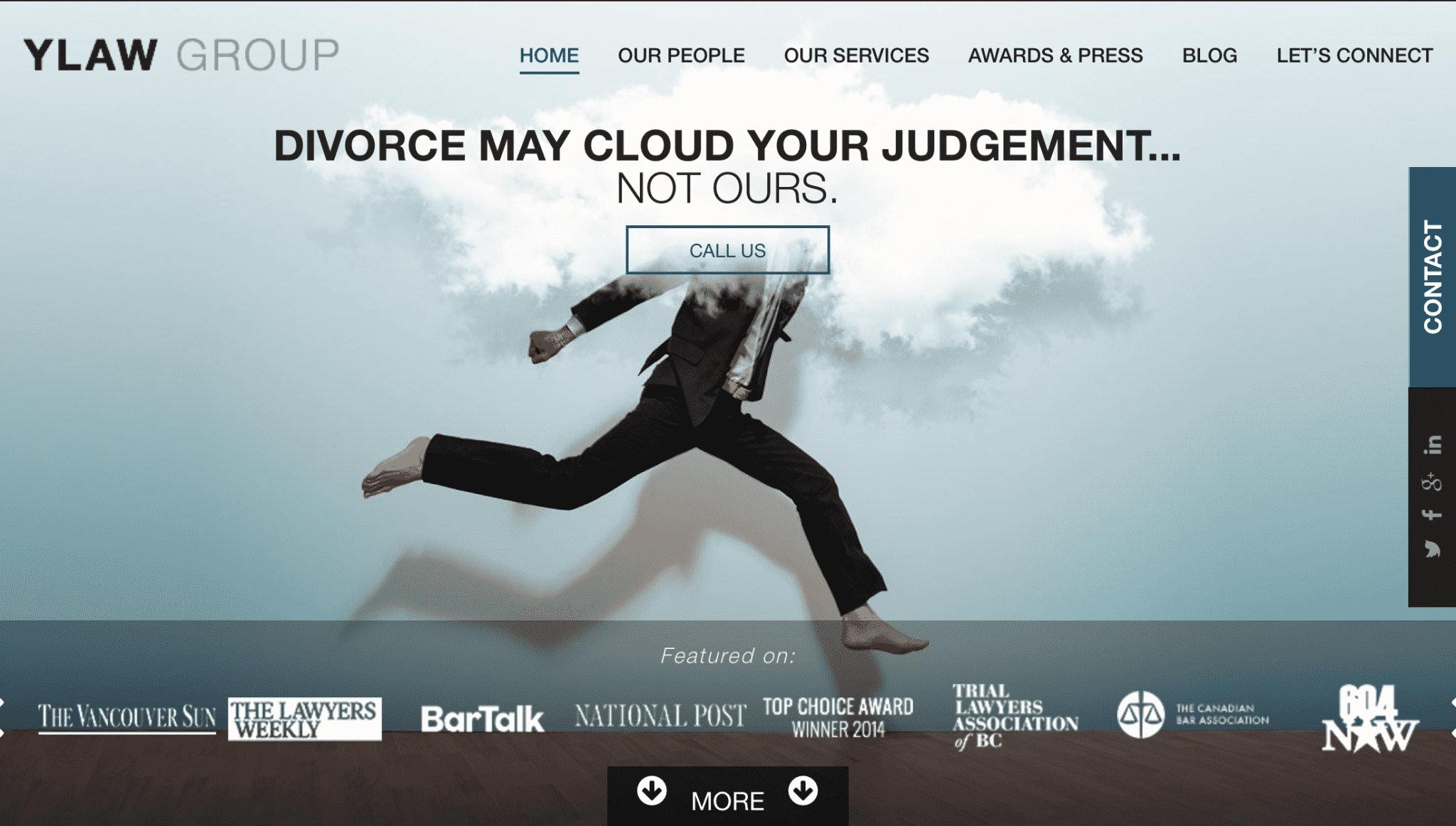 best law firm website copywriting