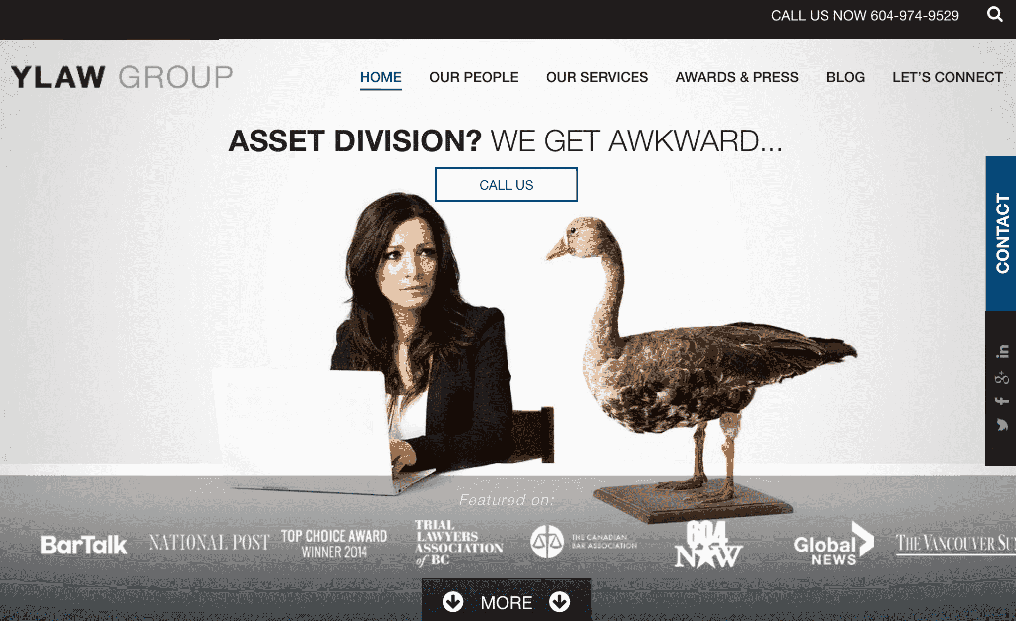creative law firm websites