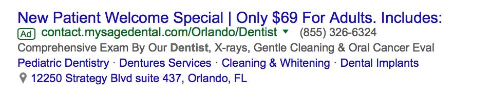 dental marketing plan
