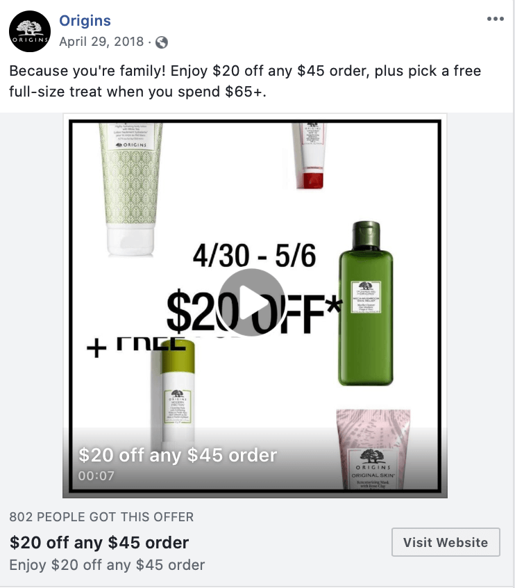 how to set up a limited time offer on Facebook Ads